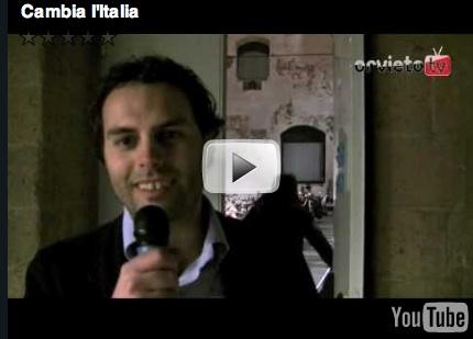 """Parte da Orvieto """"Cambia l'Italia"""" laboratorio di idee promosso da Ignazio Marino (PD)"""