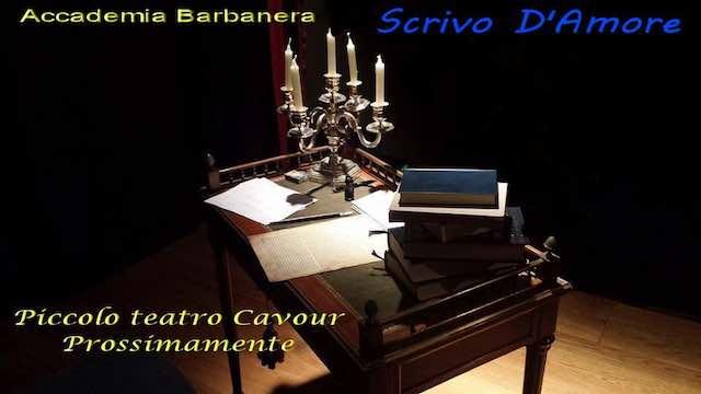 """Bando di poesia dell'Accademia Barbanera. Tema: """"Scrivo d'Amore"""""""
