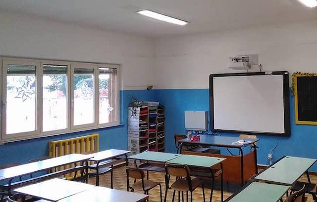 Ultimati i lavori di manutenzione sugli edifici scolastici