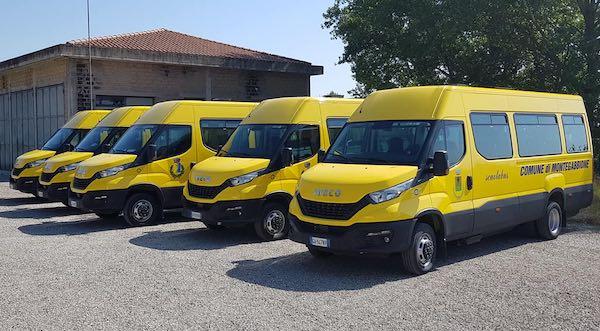Cinque nuovi scuolabus a metano per Montegabbione, Monteleone e Parrano