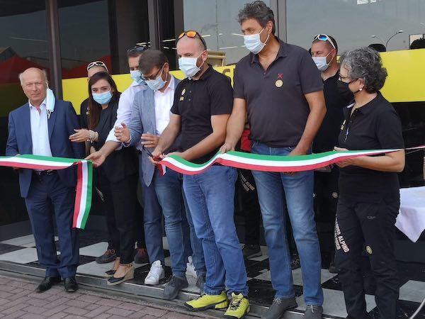 Inaugurata la sede provinciale del Soccorso Alpino e Speleologico Umbria