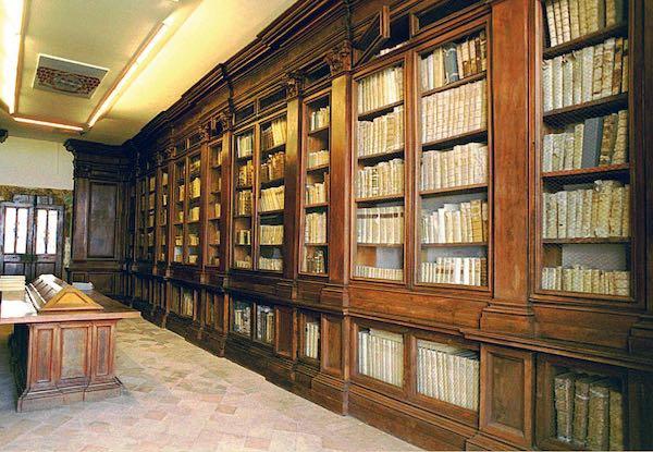 """""""Storia della tipografia e della biblioteca del seminario di Montefiascone"""""""