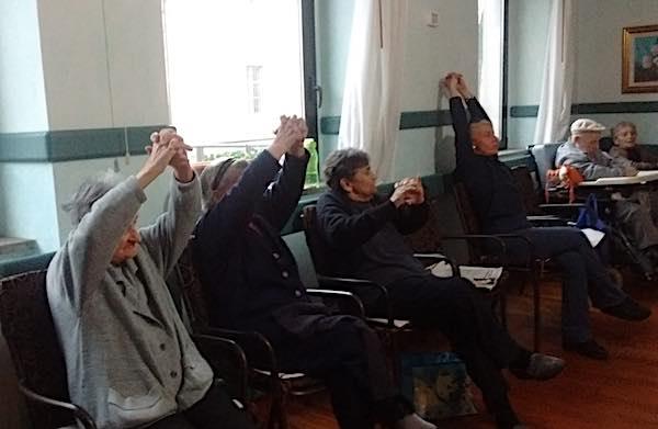 """""""Sempre in forma"""" alla Casa di Riposo Vincenziana """"Don Benedetto Baccarelli"""""""