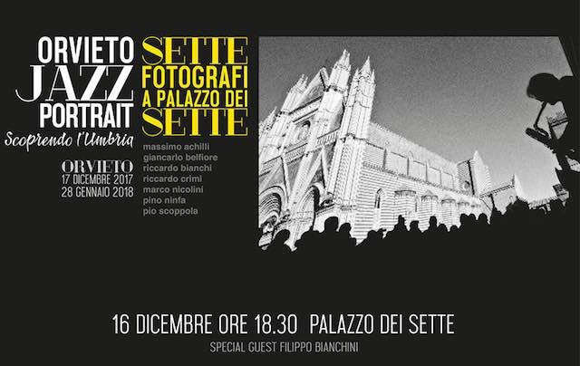 """""""OrvietoJazzPortrait"""", la mostra che ripercorre 25 anni di Umbria Jazz Winter"""