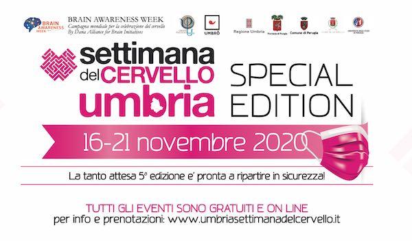 L'Università di Perugia è protagonista alla Settimana del Cervello - Umbria 2020