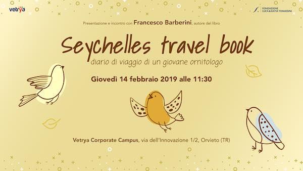"Francesco Barberini presenta ""Seychelles travel book"""