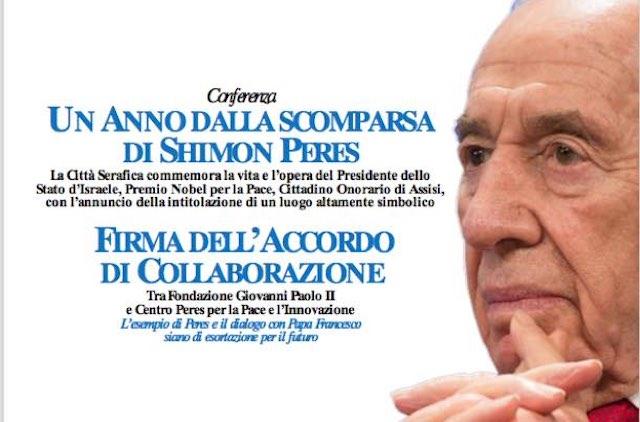 Fondazione Giovanni Paolo II e Centro Peres per la Pace, si firma l'accordo