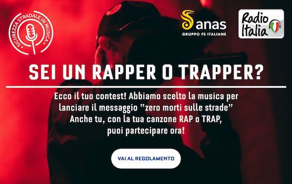 Una canzone per una guida sicura, c'è il contest di Anas e Radio Italia