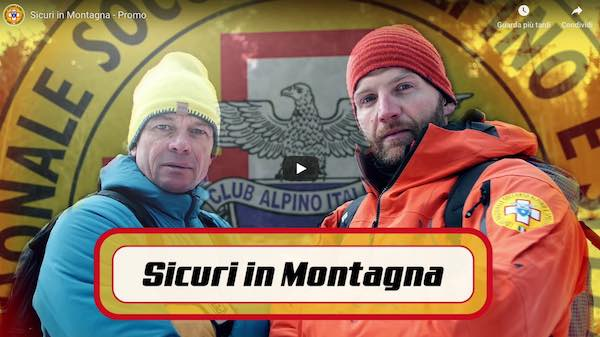 """""""Sicuri in Montagna"""". Arriva la serie video del Soccorso Alpino"""