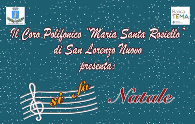 """""""Si Fa Natale"""" nella Chiesa di Santa Maria Assunta. Rassegna corale dedicata al M° Maria Santa Rosiello"""