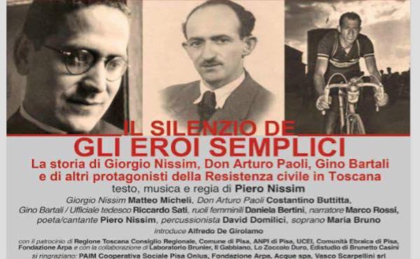 """TeatroMemoria al Mancinelli, con """"Il silenzio degli eroi semplici"""""""