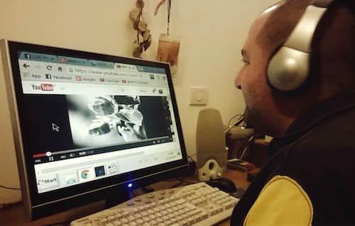Tempozero e la web radio, lo spartito dei sogni di Simone Papini