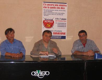 Sinistra Critica si candida come unica opposizione di sinistra alle Provinciali. Presentato il cartello in competizione a Orvieto e nel Ternano