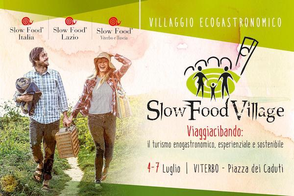 """""""Slow Food Village"""". Viaggio eco-gastronomico per gustare i cibi d'Italia"""