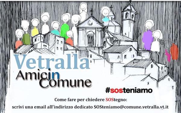 """Nasce """"Amici in Comune. SOS-teniamo"""" per riscoprirsi comunità"""