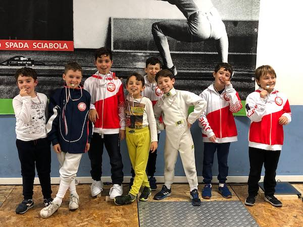Uisp Scherma, 1° Prova Trofeo Pegaso,vincono Lo Conte e Tognarini