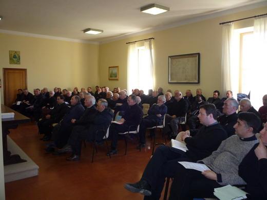 Il clero della diocesi di Orvieto-Todi in ritiro spirituale a Spagliagrano