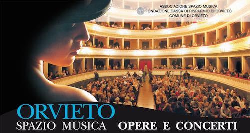 """Ad Orvieto """"Spazio Musica. Opere e Concerti"""" dal 15 luglio al 30 agosto 2019"""