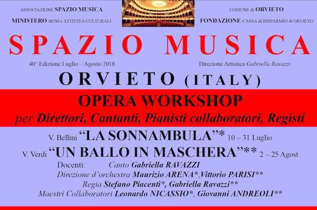"""""""Orvieto Spazio Musica. Opere e Concerti"""" compie 40 anni. Gli appuntamenti"""