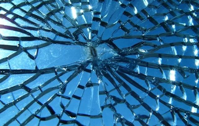 Specchio infranto