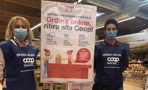 Disponibile anche alla Coop di Orvieto la spesa online con ritiro a negozio