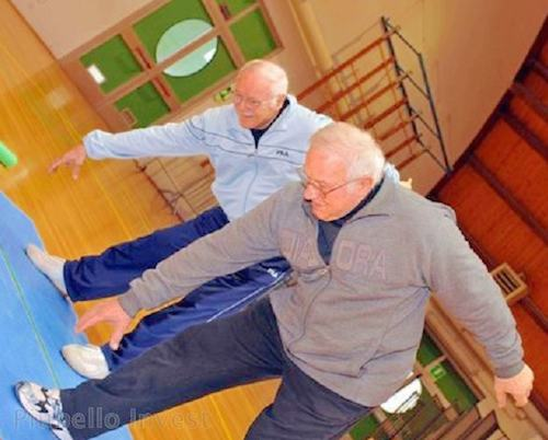 Corso di attività motoria per gli anziani della Casa di Riposo