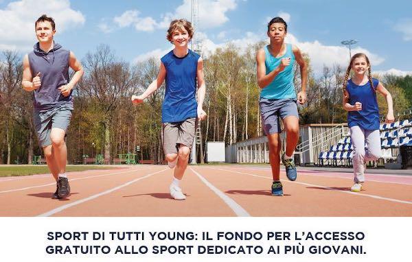 """Aperte le iscrizioni a """"Sport di tutti. Young 2019/2020"""" dai 5 ai 18 anni"""