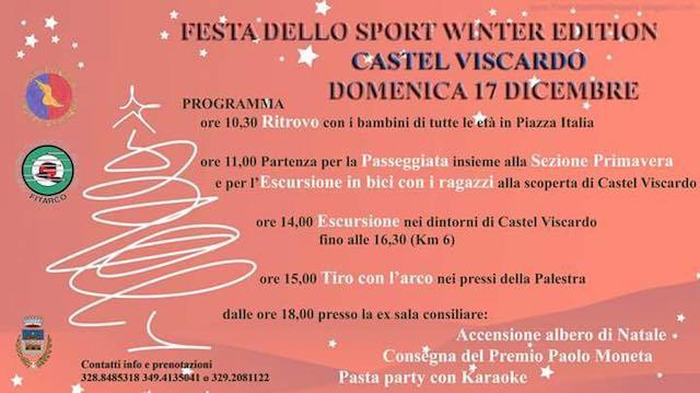 Dedicata ai più piccoli l'edizione invernale della Festa dello Sport