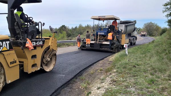 Iniziati i lavori di ripavimentazione sulla Strada Regionale 317 Marscianese