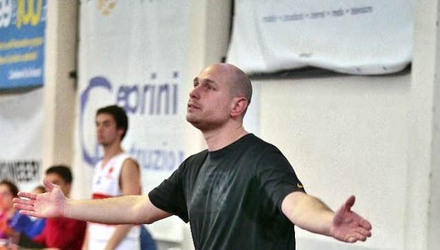 Si separano le strade tra Vetrya Orvieto Basket e Michele Staccini