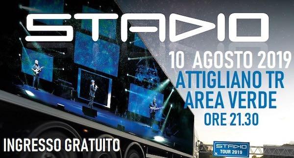 """Stadio Mobile Live 4.0"". Concerto gratuito al Parco Area Verde"