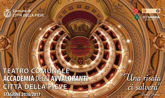 """Il Teatro Comunale """"Accademia degli Avvaloranti"""" alza il sipario sulla nuova stagione"""