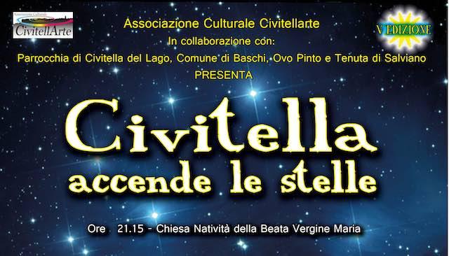 Per il quinto anno, il borgo di Civitella accende le stelle