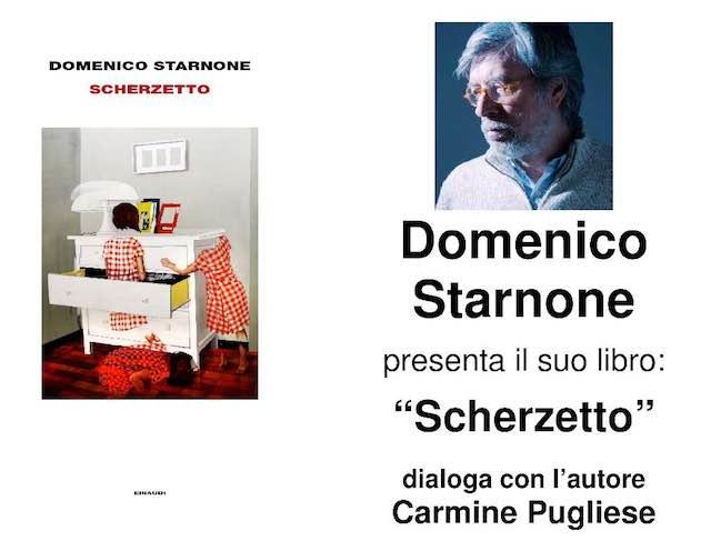 """Riparte """"I Venerdì della Biblioteca"""". Domenico Starnone presenta il libro """"Scherzetto"""""""