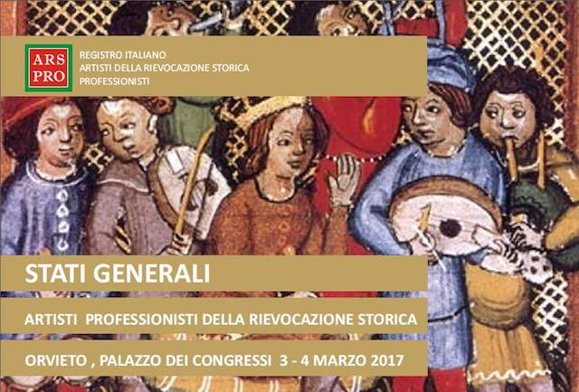 A Orvieto, gli Stati Generali degli Artisti Professionisti della Rievocazione Storica