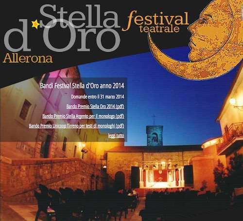 Premio Stella d'Oro: si apre il sipario sulla 18° edizione del festival teatrale