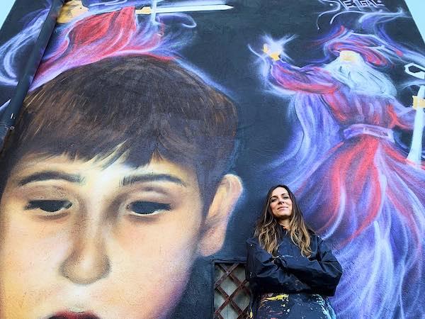 A Sant'Angelo di Roccalvecce, la terza edizione del festival di street art con SteReal