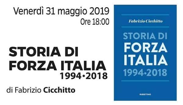 """Fabrizio Cicchitto presenta il libro """"Storia di Forza Italia. 1994 - 2018"""""""