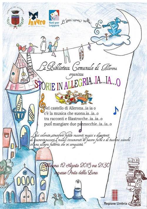 """""""Quattro notti tra le storie"""", fiabe e racconti invadono il borgo di Allerona"""