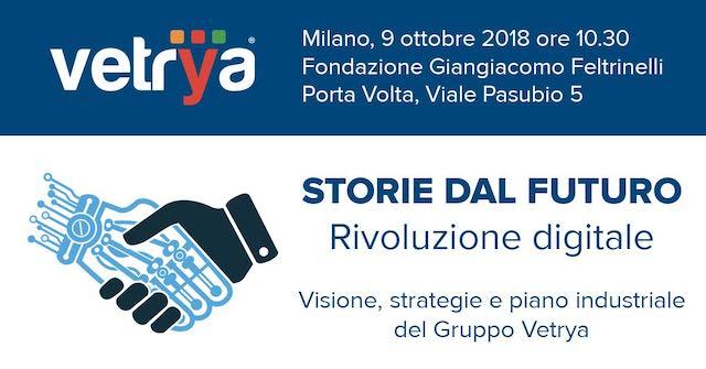 Vetrya presenta a Milano visione, strategie e piano industriale 2018-2023