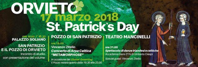 """""""St. Patrick's Day 2018"""". Arpa celtica nel Pozzo verde e danze irlandesi al Mancinelli"""