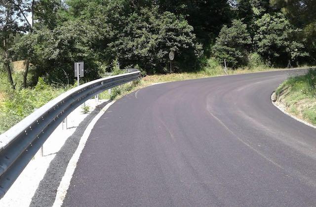 Iniziati lavori di asfaltatura e sostituzione barriere di sicurezza sulla SR 71