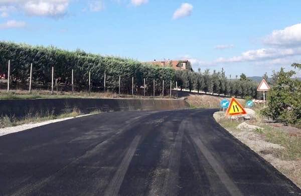 Rifacimento del manto stradale lungo la Provinciale 108