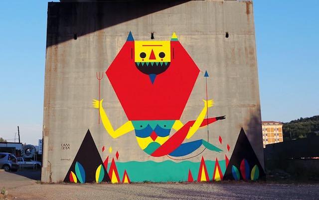 Street art allo Scalo. Gioventù Nazionale Orvieto chiede conto