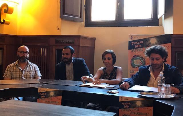Presentata la prima edizione del Festival dello Street Food e dell'Artigianato