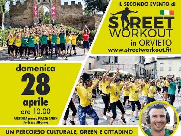 """""""Street Work Out"""" per le vie del centro storico"""