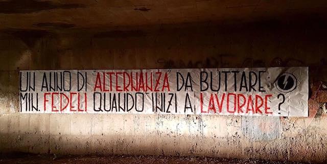 """Blocco Studentesco Umbria grida al """"flop dell'alternanza scuola-lavoro"""""""