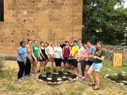 A Orvieto le attività di studio e volontariato di un gruppo di studenti della Drew University