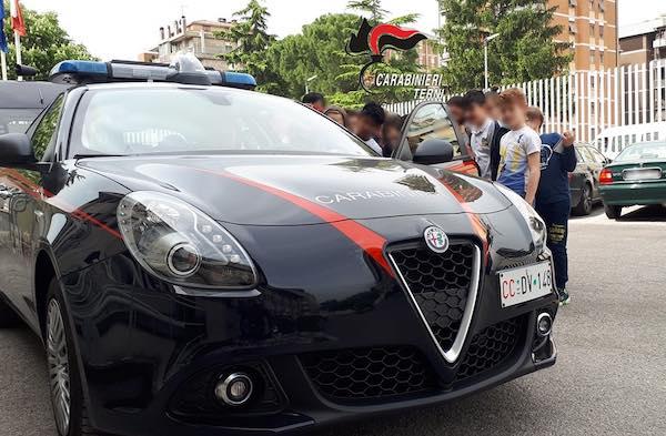 Oltre 500 studenti a scuola di legalità con i Carabinieri