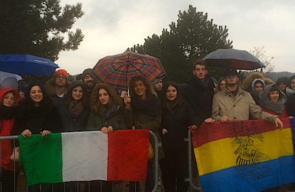 Gli studenti dell'Iisacp alla Foiba di Basovizza per il Giorno del Ricordo